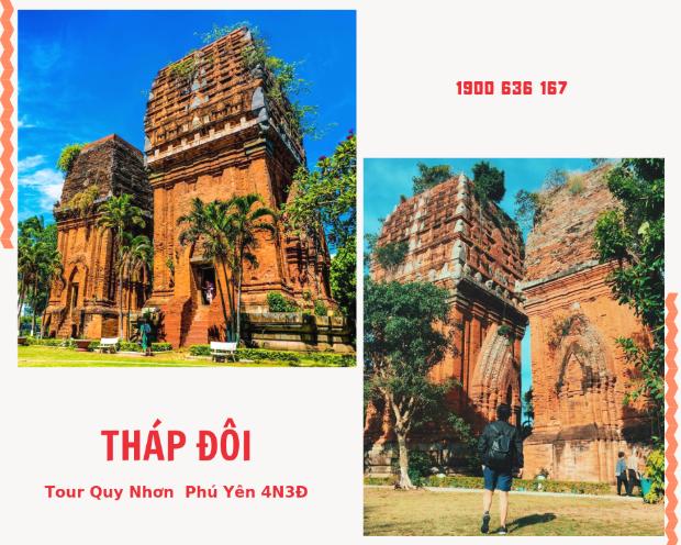 Tháp Đôi Quy Nhơn - Tour Quy Nhơn Phú Yên 3N3Đ