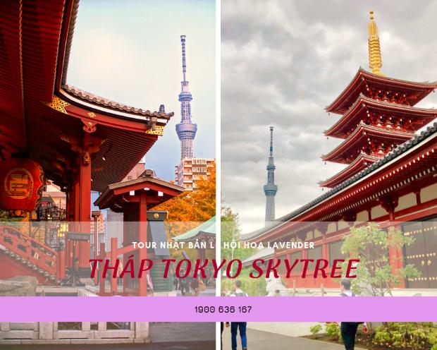 tháp Tokyo Skytree - Du lịch Nhật Bản 5N5Đ