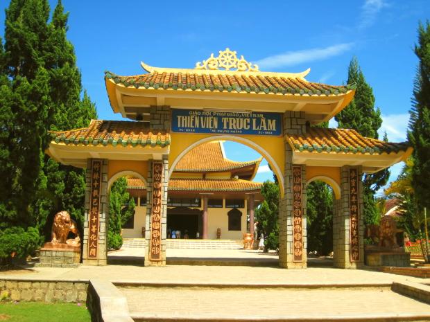 Thiền Viện Trúc Lâm - Tour Huế Đà Lạt