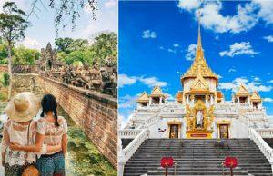 Tour Thái Lan Campuchia 7N6Đ giá rẻ – Khám phá xứ sở Chùa Tháp, đất nước của những nụ cười