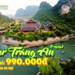 Tour Tràng An 1 ngày: Chinh Phục Hang Múa, Ngoạn Cảnh Danh Thắng Tràng An