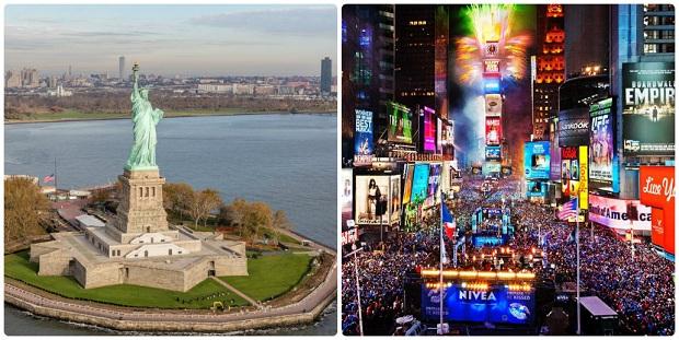 Biểu tượng của New York Mỹ | Vé máy bay Hà Nội đi New York