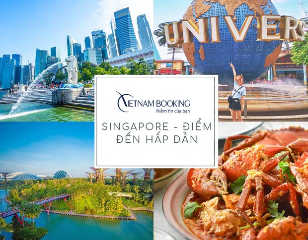 Cảnh đẹp Singapore | Vé máy bay TPHCM đi Singapore