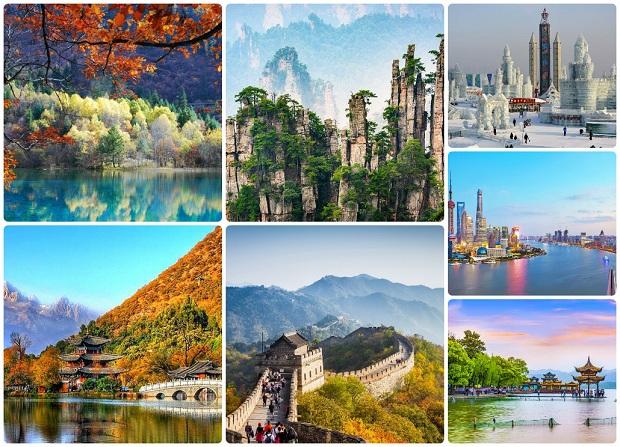 Cảnh đẹp Trung Quốc | Vé máy bay đi Trung Quốc