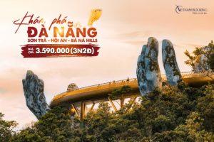 Tour du lịch Đà Nẵng Hội An | Khám phá Sơn Trà | Bà Nà Hills 3N2Đ