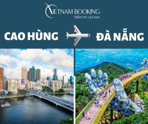 Vé máy bay Cao Hùng đi Đà Nẵng