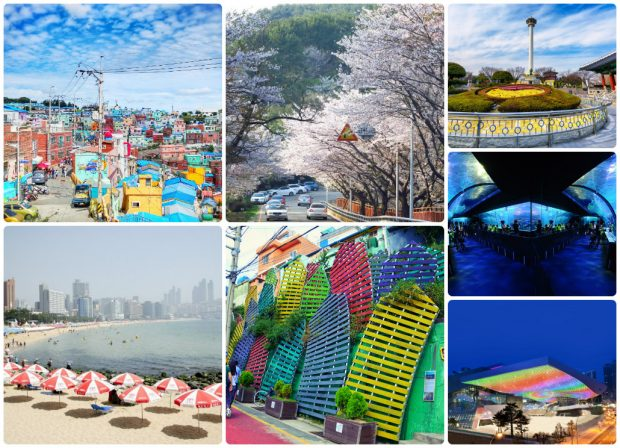 Tổng hợp địa điểm tại Busan