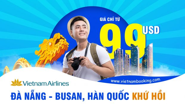 Vietnam Airlines khuyến mãi chỉ từ 99 USD