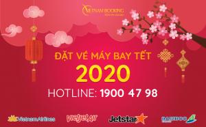 Vé máy bay Tết 2021 | Đặt vé máy bay Tết giá tốt nhất tại Vietnam Booking!