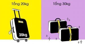 Chi tiết về quy định hành lý hãng Scoot Airlines