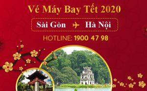 Vé máy bay Tết 2020 Sài Gòn đi Hà Nội rẻ nhất