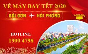 Vé máy bay Tết 2020 Sài Gòn đi Hải Phòng giá rẻ nhất | Chỉ từ 599.000Đ