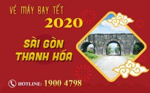 Vé máy bay Tết 2020 Sài Gòn đi Thanh Hóa rẻ nhất | Chỉ từ 900.000Đ