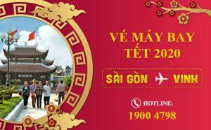 Vé máy bay Tết 2021 Sài Gòn – Vinh giá rẻ | Chỉ từ 690.000Đ
