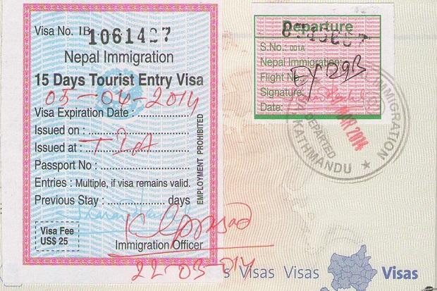 Dịch vụ làm visa Nepal trọn gói