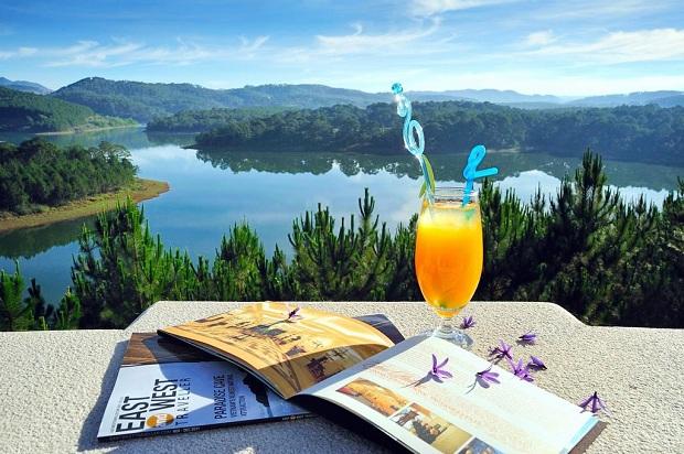 View đẹp tại Căn phòng được bài trí ấm cúng tạ Lãng mạng tại Dalat Edensee Lake