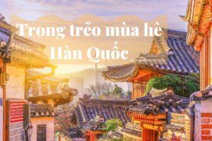 Du lịch Hàn Quốc tháng 8 – Tưng bừng cùng mùa lễ hội
