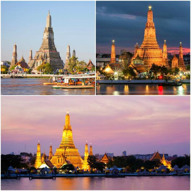 Du thuyền trên sôngChao Phraya