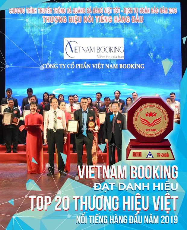 Vietnam Booking đạt giải top20 thưởng hiệu