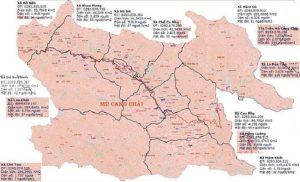 Bản đồ du lịch Mù Cang Chải 2020 đầy đủ nhất