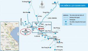 Bản đồ du lịch Sapa và 9 điểm đến nhất định phải check in 2021