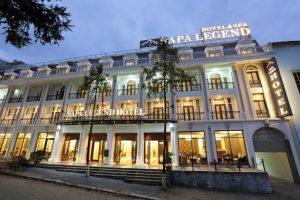 Combo 2N1Đ Xe giường nằm khứ hồi + khách sạn Sapa Legend 4 sao