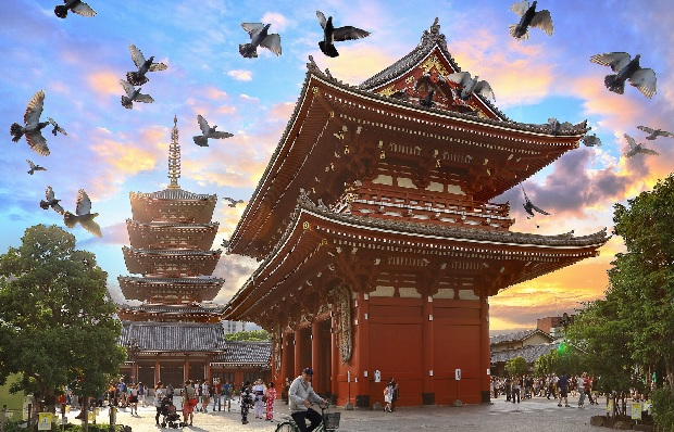 Tour du lịch Nhật Bản 6 ngày 5 đêm: Osaka – Kyoto –  Kobe – Nagoya – Yamanashi – Tokyo