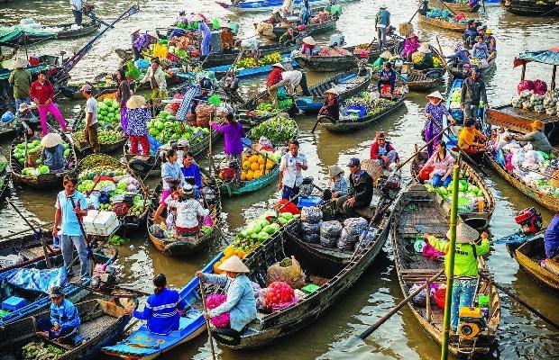 Tour du lịch Miền Tây 2 ngày 2 đêm Mùa nước nổi | Bà Chúa Xứ – Rừng Tràm Trà Sư – Chợ Nổi Cái Răng