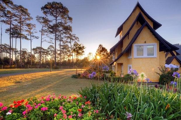 TOP khách sạn Đà Lạt hồ Tuyền Lâm view đẹp nhất