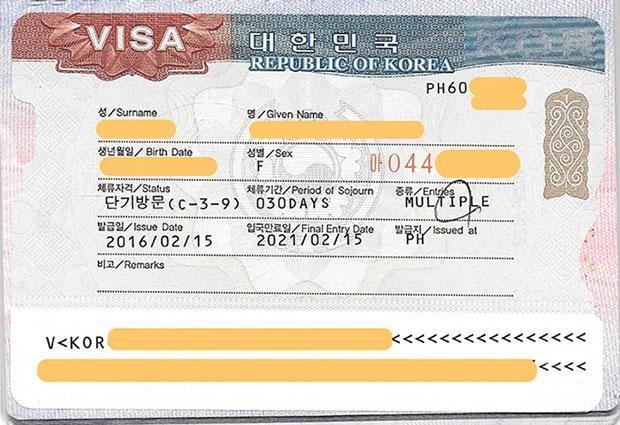 Visa Hàn Quốc 5 năm