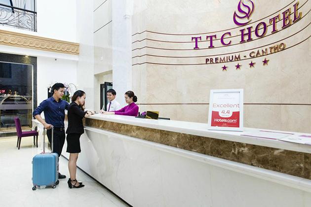combo khách sạn TTC premium Cần Thơ