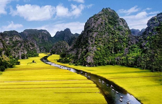 Tour du lịch Ninh Bình 1 ngày | Hà Nội – Hang Múa – Tràng An – Hoa Lư