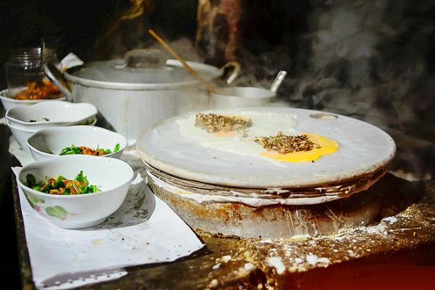 Bánh cuốn nóng Hà Giang