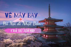 Đặt vé máy bay Hà Nội đi Nhật Bản giá rẻ