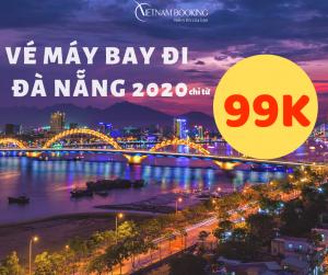 Đặt vé máy bay đi Đà Nẵng giá rẻ Vietjet, VietnamAirlines, Jetstar, Bamboo