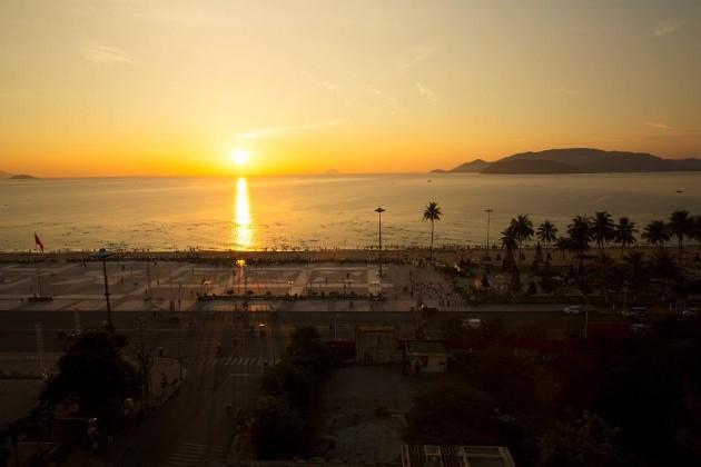 View biển khách sạn Happy Light