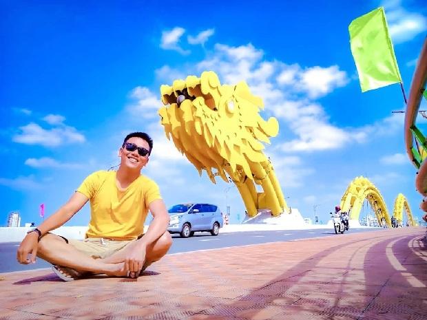 Cầu Rồng Đà Nẵng tháng 2