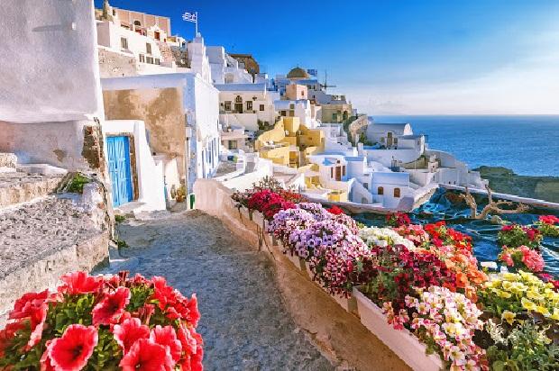 Du lịch Châu Âu Hy Lạp - Santorini