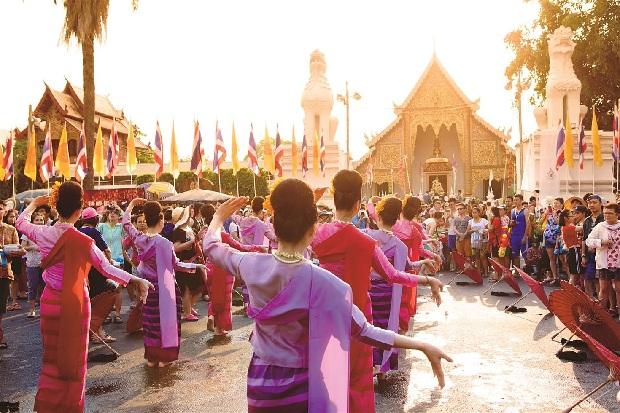 Lễ hội đón năm mới của Thái Lan Campuchia Lào