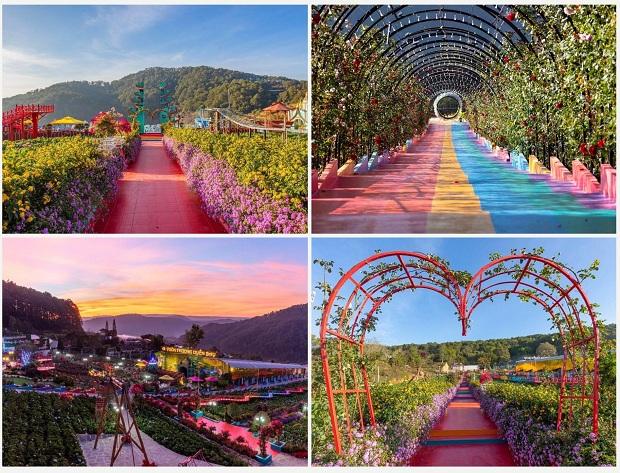 Địa điểm du lịch Đà Lạt - Vườn Thượng Uyển Bay