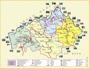 Bản đồ du lịch Hà Giang mới và chi tiết nhất dành cho du khách