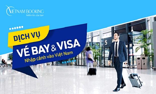 Dịch vụ: Công văn nhập cảnh và đặt vé máy bay cho người nước ngoài về Việt Nam