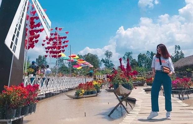 Tour Đồng Tháp 1 Ngày: KDL Happy Land Hùng Thy - Làng hoa Sa Đéc