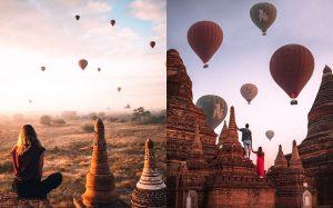 Bạn đã biết đến Lễ hội té nước và khinh khí cầu Myanmar 2021 chưa?