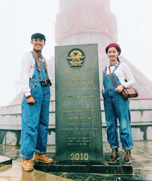 Mặc đồ đôi đi du lịch Hà Giang