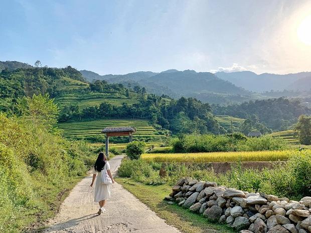 Trang phục du lịch Hà Giang mùa thu