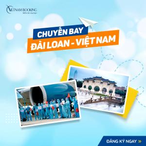 Chuyến bay từ Đài Loan về Việt Nam – Bay ngày 23/1 & Có lịch bay sau Tết