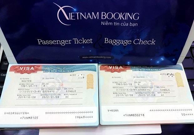 Lãnh sự quán Hàn Quốc: 'Ngưng dán nhãn visa Hàn Quốc từ 01/7/2020'