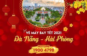 Vé máy bay Tết 2021 Đà Nẵng đi Hải Phòng giá rẻ