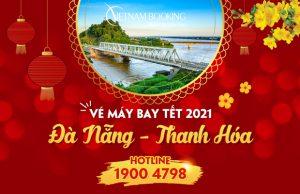 Vé máy bay Tết 2021 Đà Nẵng đi Thanh Hóa giá rẻ
